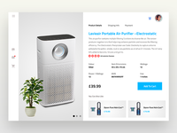 eCommerce slider for website