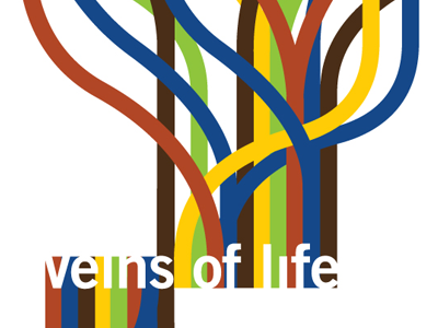Veins of Life design motion infographic