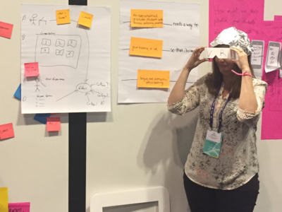 This is how you prototype design workshop ux design empathy map design thinking prototype