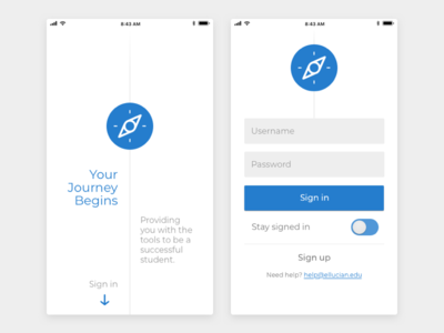 Student Mobile App Entry visual design ux design ui design product design mobile design