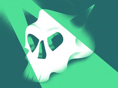 Evil Skull gif illustrator skull design andrea rubele graphic design illustration