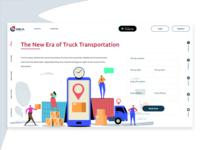 OKA Truck Website Home Page