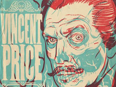 Happy Birthday Vincent Price illustration procreate