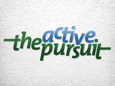The Active Pursuit sport logo activity