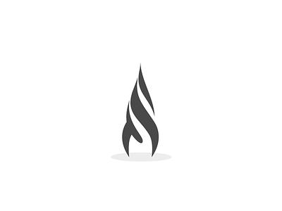 Twisted rocket symbol logo symbol logotype brand identity geometry space modern minimal graphic design branding
