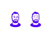 Hello? symbol simple music modern minimal logotype logo graphic design clean branding brand