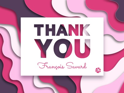 Thank You For The Invite card print thank you card lyon papercut paper invite thank you invitation