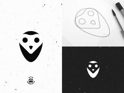 Graphic Design 16 - Owl concept owl logo bird circle illustrator vector logo owl