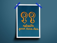 Graphic Design 24 - Retraite Pour Tous.tes