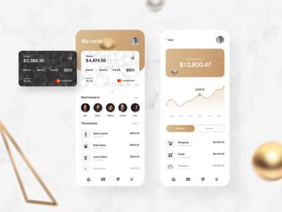 Banking app - Mobile app