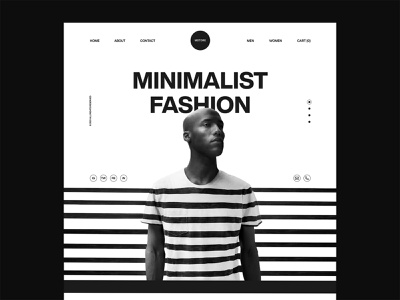 Mstore website design products web hero lines fashion store ecommerce clothes landing page dark layout web design creative typography interface minimal clean ui design ui ux