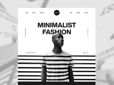Mstore website design motion design creative ui interactions dark interaction animation landing page ecommerce fashion lines hero web typography interface minimal clean ui design ui ux products