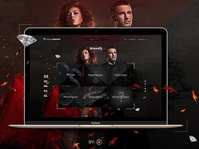 Jewerly Website Concept