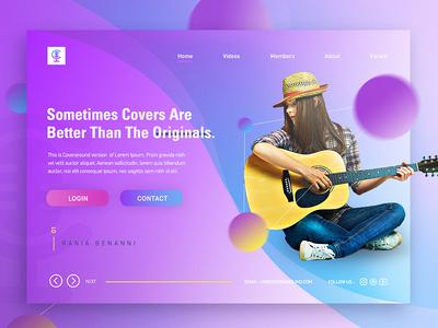 Talent Showcase - Website Design