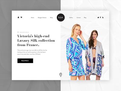 Fashion Boutique - Website Design