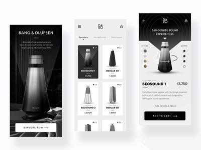 Speaker Store App