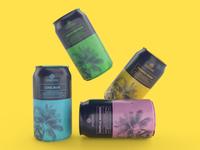 Packaging design for Essense's Alcoholic Beverage