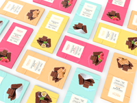 Packaging design - Freya Chocolate