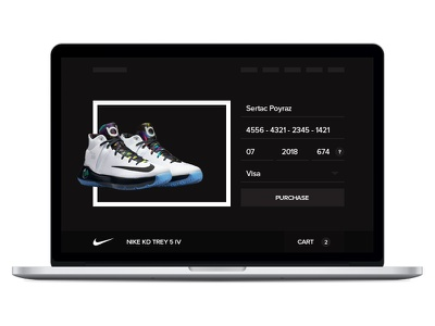 Daily UI Challenge #002 — Checkout layout challenge dailyui checkout nike commerce