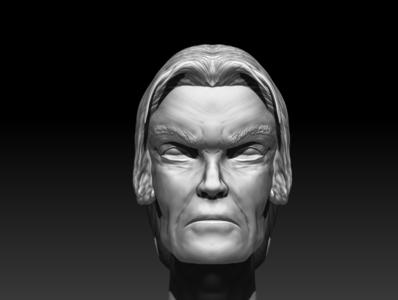 Human head sculpting 3d art sculpting design 3d mdoeling 3d modeling anatomy sculpting character  modeling zbrush 3d modeling