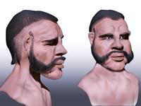 3D human character  sculpting