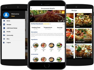 Barbacoa Cooking Recipe Mobile App By Octal It Solution Llp
