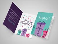 Greeting card - Birthday