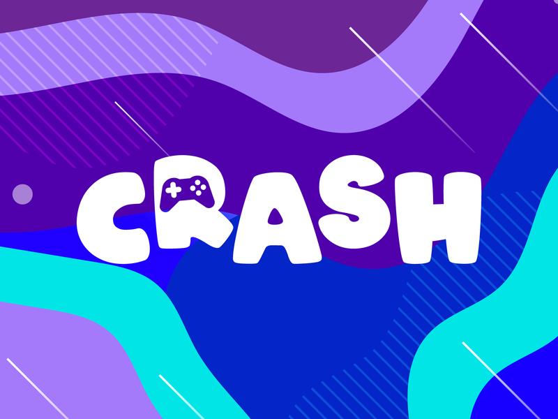 Branding - Crash gamer xbox ps4 crash game arena gaming logo gaming logo illustration illustrator design branding