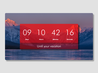 #014 Countdown Timer countdowntimer dailyui 014 dailyuichallenge