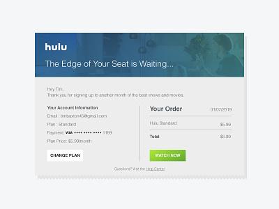 #017 Email Receipt email receipt ui 017 dailyui