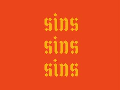sins sins sins