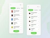 Yerba mate shop - Mobile app (part 1)