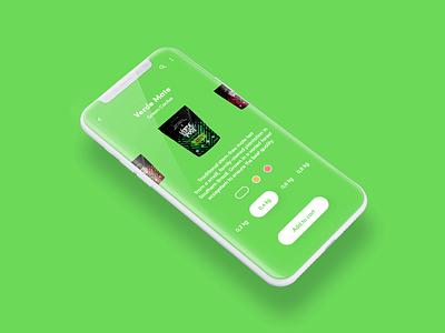 E-commerce - Interaction minimalist e-commerce store shop mate yerba interaction xd adobe minimal flat design app design mobile daily ux animation application ui app