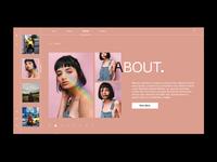 Portfolio - Works Section - Interaction