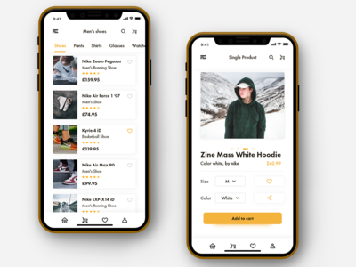 Mobile app - Fashion E-commerce