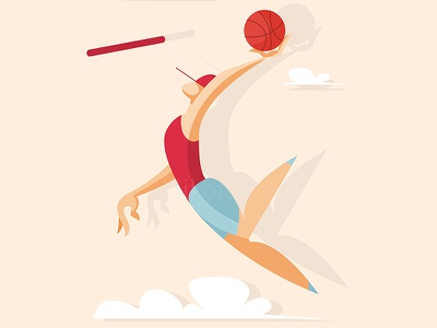 Basketball player arena active match illustration goal net person play sport jump man game athlete competition throw basket action player ball basketball