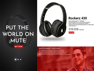 Headphone Banner