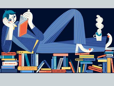 Quartz at Work book employer employee careering interface design ui user experience magazine quartz branding color combination work web illustration illustrated illo character design illustrator illustration editoral