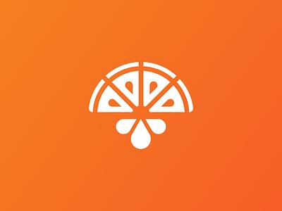 Freshly Squeezed Logo abstract logo abstract joe budden joe budden podcast brand identity brand design branding brand identity design logo design juice orange podcast music symbol logo mark