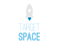 Target Space ios game blue space spaceship platform ostrich sans