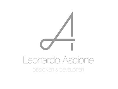New brand identity logo gray minimalism simple