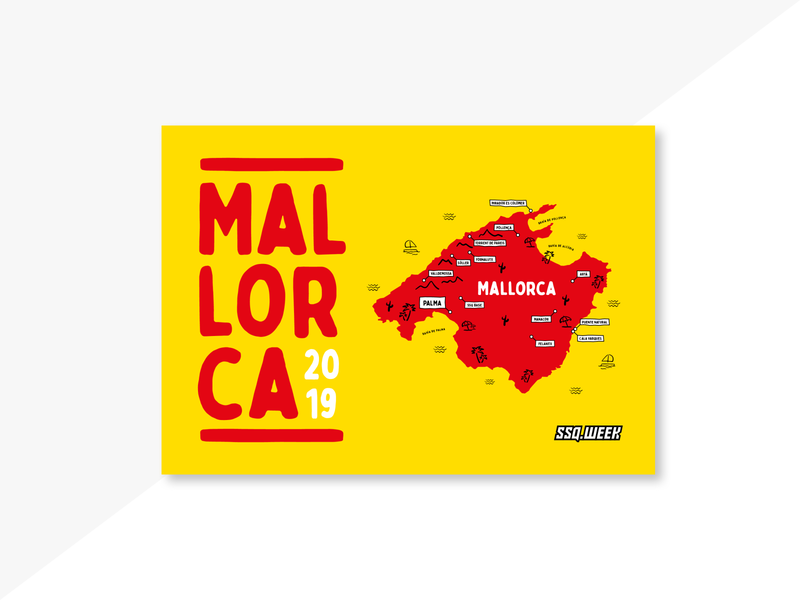 Travel Book (Bildband) Mallorca / SSQ.week 2019 journeys illustrated book photo book journey adventure typography book art travelling travel photography book cover book inspiration design graphic design graphicdesign illustration