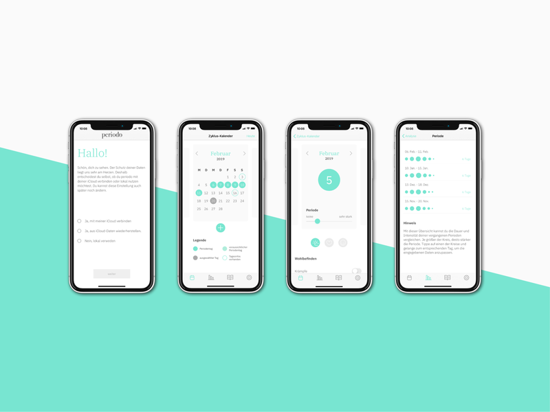 periodo – track your cycle development layout concept web design app design ios app development logo application ui design ios app appdesign webdesign branding design branding brand uidesign ui