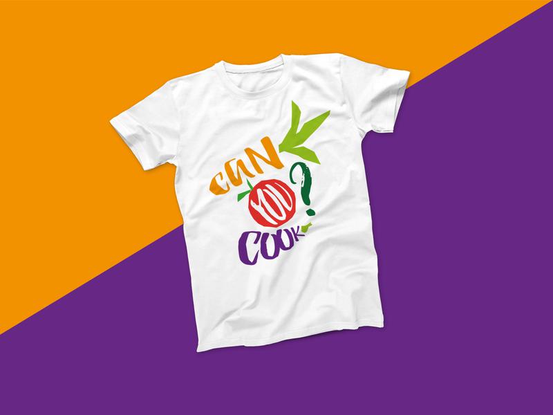 Can you cook? - vegetable / print motif for Herzkampf print design illustrator t-shirt design inspiration vector design illustration graphic design apparel design apparel