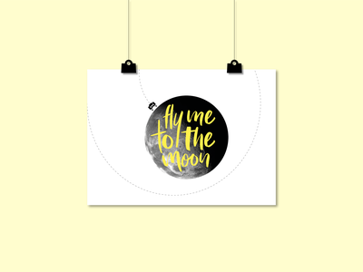Postcard moon / SPACE SQUAD wall art postcard design postcard poster art poster space art universe solar system planets moon space inspiration design illustration graphic design graphicdesign vector