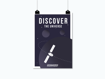 Artwork of Satellites / SPACE SQUAD satellite discover world space week space squad universe space inspiration design illustration graphic design graphicdesign vector