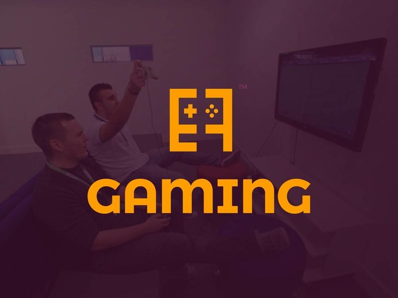 E7 gaming logo team video game gaming gamers branding