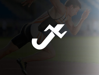 jesus athlete logo icon