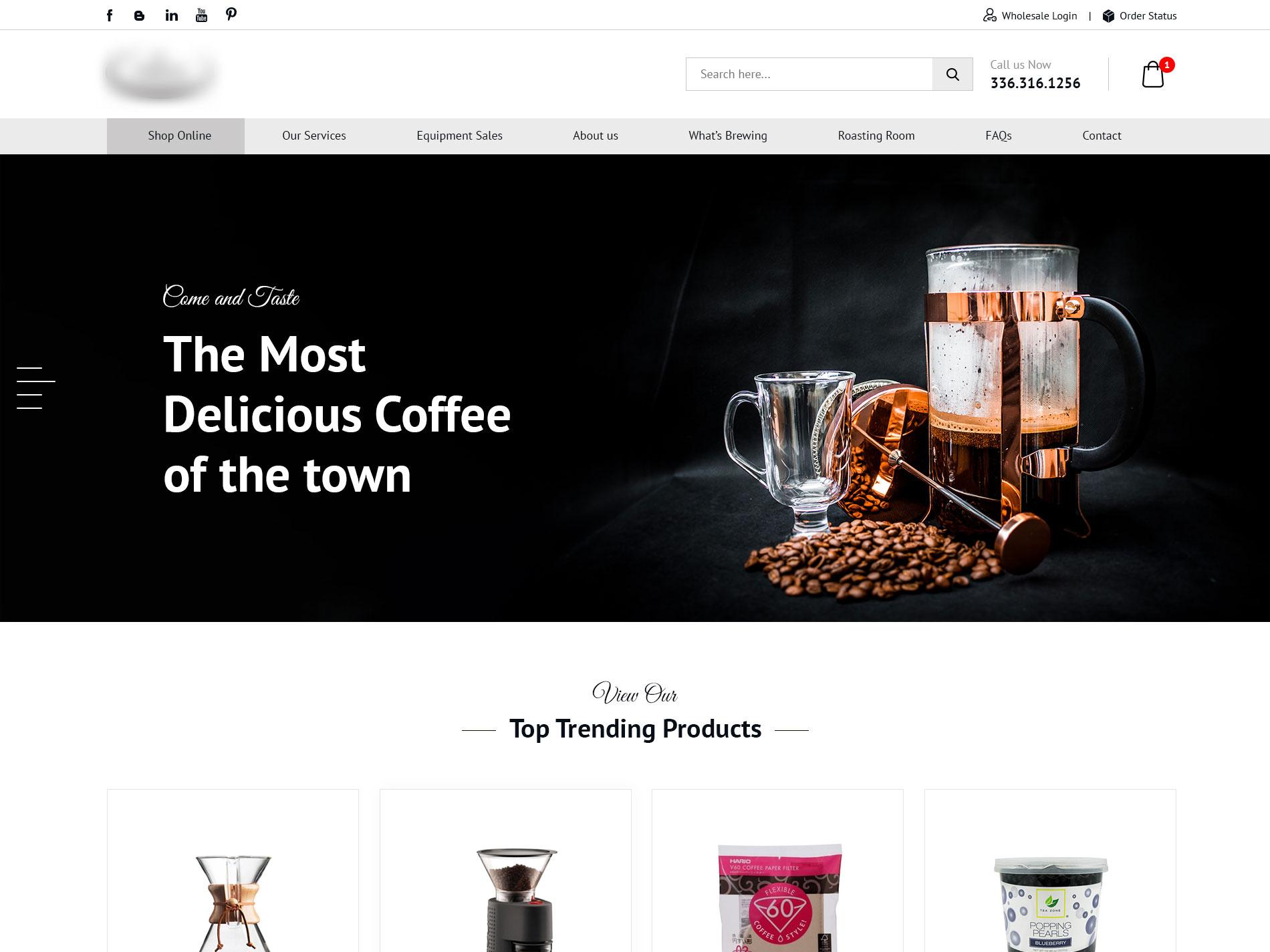 Coffee shop solution
