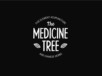 The Medicine Tree Acupuncture Logo acupuncture tree nature logo